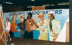 Toegangspoort Headquarters WJ 1995